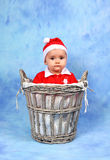 Santa Claus Baby Royalty Free Stock Photo
