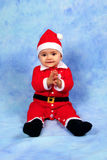 Santa Claus Baby Stock Images