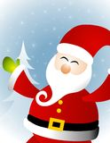 Santa Claus Background Royalty Free Stock Photos