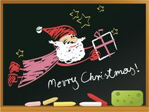 Santa Claus background Stock Photography