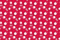 Santa Claus background. Merry Christmas pattern seamless. Merry Christmas pattern seamless collection. Santa Claus background. Endless texture for gift wrap royalty free stock photo