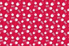 Santa Claus Background Modèle de Joyeux Noël sans couture photo libre de droits