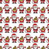 Santa Claus background Stock Photos