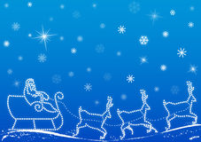 Santa claus background vector Stock Photos