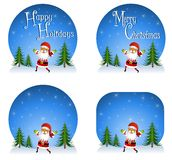 Santa Claus Backgrounds Royalty Free Stock Image