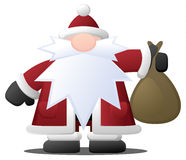 Santa Claus Bag Stock Images