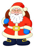 Santa Claus with with bag of gifts Royalty Free Stock Images