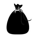 Santa claus bag icon Royalty Free Stock Photo