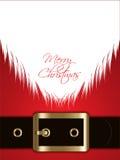 Santa Claus bakgrund Arkivbilder
