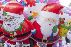 Santa Claus balloon Royalty Free Stock Photos
