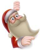 Santa Claus Banner vektor illustrationer