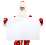 Santa Claus  - Banner Add Royalty Free Stock Images