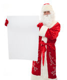 Santa Claus  - Banner Add Stock Photos