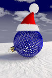 Santa Claus bauble Royalty Free Stock Image