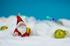 Santa Claus-beeldje Stock Foto