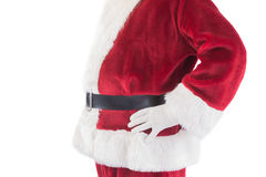 Santa Claus belly from the side Royalty Free Stock Image