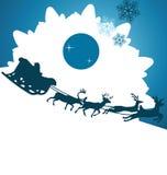 Santa claus bg Stock Images