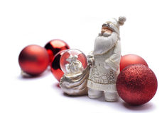 Santa Claus bianca fotografia stock libera da diritti