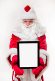 Santa Claus with black frame Stock Photo