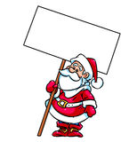 Santa Claus blank Royalty Free Stock Photo
