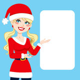 Santa Claus Blonde Stock Images