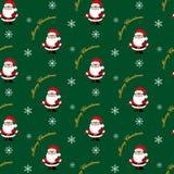 Santa claus Boże Narodzenie wzór Zdjęcia Stock