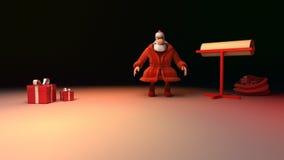 Santa Claus bokstav lager videofilmer