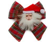 Santa Claus bow Royalty Free Stock Image