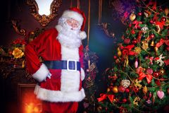 Traditional Santa Claus Royalty Free Stock Photos