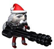 Santa Claus burglar Stock Photography