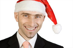 Santa Claus businessman Stock Images