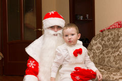 Santa Claus came to visit Royalty Free Stock Photography