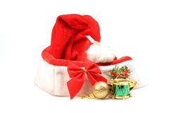 Santa claus cap Royalty Free Stock Photo