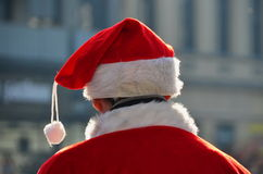Santa Claus  with cap Royalty Free Stock Photography