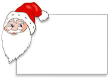 Santa Claus Card Stock Image