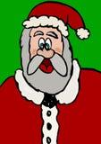 Santa Claus card Royalty Free Stock Photography