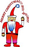 Santa Claus Cartoon Photographie stock