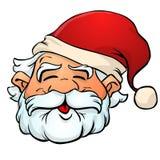 Santa Claus Cartoon. Cute Santa Claus in color vector illustration