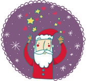 Santa Claus cartoon Royalty Free Stock Image