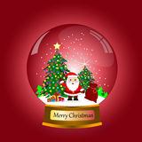 Santa Claus Cartoon Imagem de Stock Royalty Free
