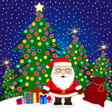 Santa Claus Cartoon illustration stock