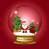 Santa Claus Cartoon Stockfotografie