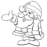 Santa Claus Cartoon Stock Image