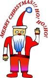 Santa Claus cartoon royalty free illustration