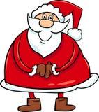 Santa claus cartoon character Royalty Free Stock Photography