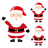 Santa Claus Cartoon Christmas Royalty Free Stock Photos