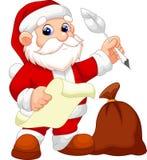 Santa Claus cartoon Stock Photos