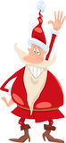 Santa claus cartoon illustration Stock Photography