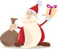 Santa claus cartoon illustration Royalty Free Stock Photography