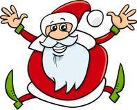 Santa claus cartoon illustration Royalty Free Stock Photo
